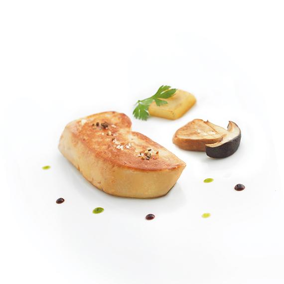 Foie gras de canard cru surgel en escalope rougi - Cuisiner foie gras cru ...