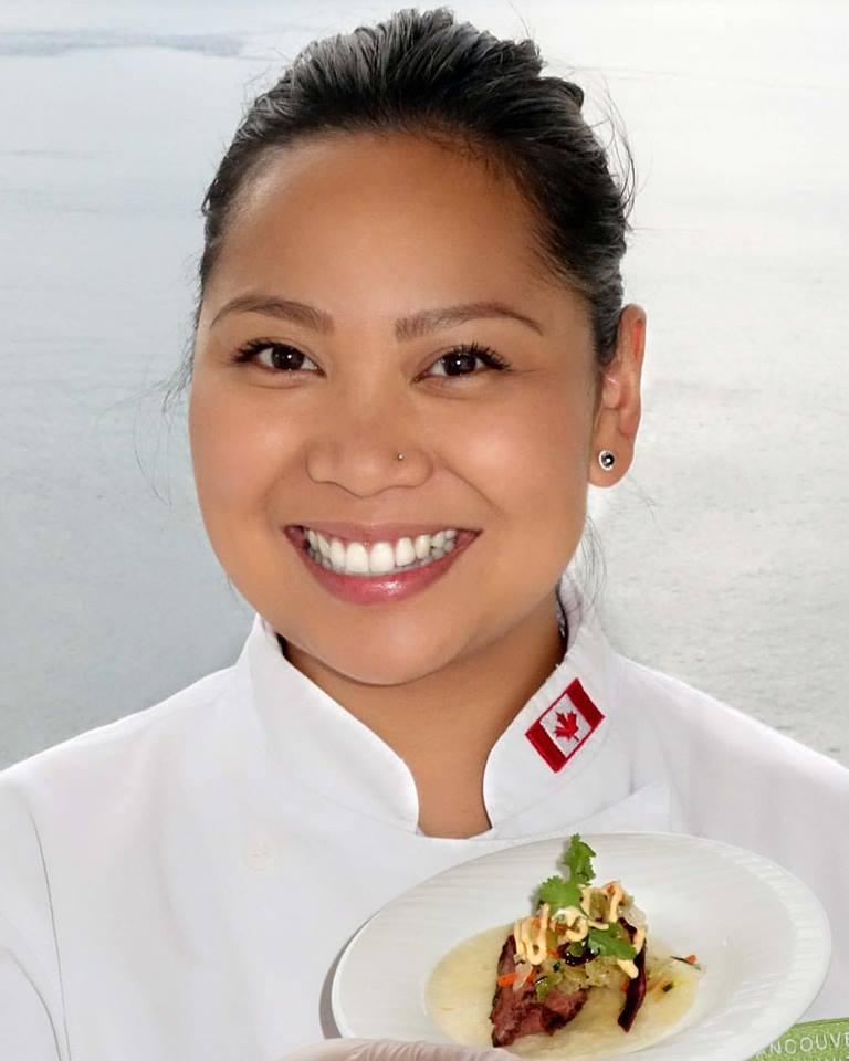 Grace Pineda Commis Bocuse d'Or Canada Rougié